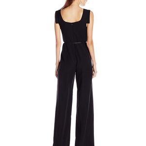 0435d868dfa2 Black Halo Dresses - Black Halo Jackie O Belted Romper Dress Jumpsuit